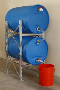 Titan Ready Water Storage System.  Love this idea!