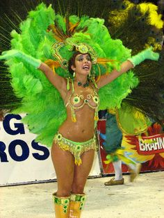 Gualeguaychu Carnival festival held in Entre Rios, Argentina.