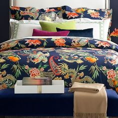 New Moon Printed Duvet Cover & Shams #williamssonoma