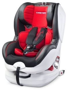 Autosedačka CARETERO Defender Plus Isofix red