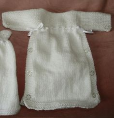 Burial Gown; Knitting Patterns - Tigerlily Trust