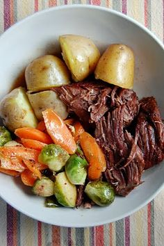 Pressure Cooker Beef Pot Roast by voodooandsauce: Cooks in a hour.  #Beef #Pot_Roast #Pressure_Cooker