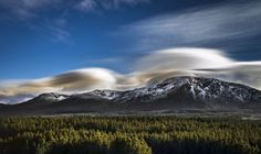 Lenticular clouds Photo by Hariraj Ji -- National Geographic Your Shot