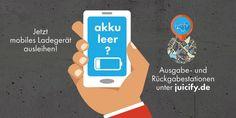 #Startup vorgestellt: juicify GmbH - Akku leer? Mobiles Ladegerät für unterwegs