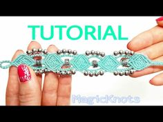 Micro macrame Sunshine bracelet ( DIY) - YouTube