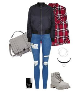 """Contest: Winter Boots"" by haleymcisaac ❤ liked on Polyvore featuring Rails, Topshop, Timberland, Sarah Kosta and Butter London"