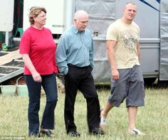 Mike Tindall has spoken candidly about his father Philip's battle with Parkinson's. The rugby star is pictured in 2006 at Gatcombe Horse Trials with his father, now and mother, Linda, who is Philip's carer Mike Tindall, Royal Families, Trials, Rugby, Battle, Father, Horse, Star, Couple Photos