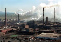 Russia Noril'sk. Noril'sk pumps out more than two million tons of #pollutants a year. Mining and smelting began in Noril'sk in the 1930s, and the city now houses the world's largest smelting complex for #heavymetals. http://www.milliondollarforcorporation.com/