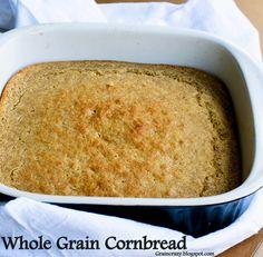 Grain Crazy: Whole Grain Cornbread. Great with Chili.
