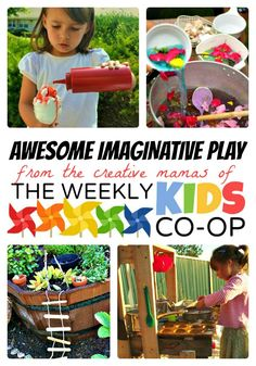 Pretend & Imaginative #Play for #Kids at B-InspiredMama.com