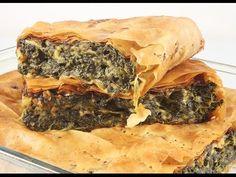 Пирог с Шпинатом и Сыром. Spanakopita.