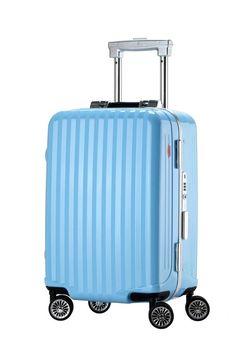 5948d15481f8f Ambassador Luggage Premium Zipplerless Frame Polycarbonate Suitcase Carry  On    Trust me