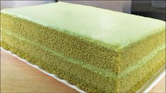 green matcha tea cake and other fluffy sponge cakes BLOG