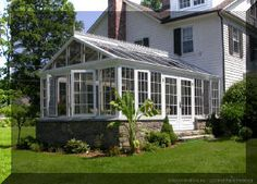 1000 images about solariums on pinterest sunrooms for Sunroom attached to house