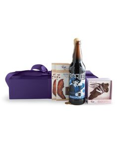 Were you wondering what to get for my birthday this August 14th? A Beer + Bacon Gift Box from Vosges would do just fine, thanks.