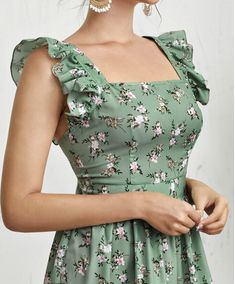 Cute Formal Dresses, A Line Prom Dresses, Simple Dresses, Pretty Dresses, Floral Dress Outfits, Fashion Dresses, Embroidered Clothes, Look Chic, Designer Dresses