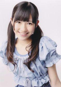Watanabe Mayu / Mayuyu (AKB48). This is my last pin today. Oyasumi!