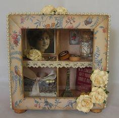 Martha's blog: Weer een kastje gemaakt....