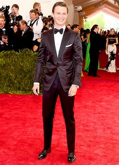 "Ansel Elgort cut a dapper figure at the ""China: Through the Looking Glass"" Met Gala on May 4 in New York City."