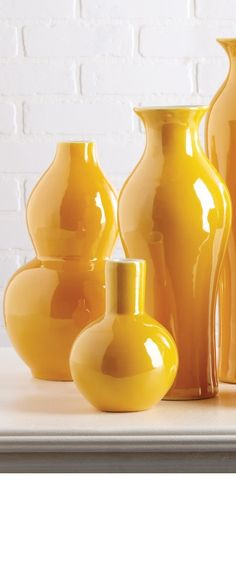 Attrayant Yellow Decor | Yellow Home Decor | Yellow Home Accessories | Yellow Vases  For Sale | Yellow Bowls For Sale | Yellow Jars For Sale | Yellow Vases |  Yellow ...