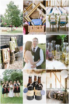 Gemma & Tom's DIY Barn Wedding   Natasha Hurley Photography   Bridal Musings Wedding Blog
