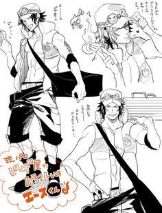 One Piece, Portgas D. Ace