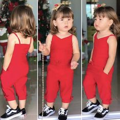 estilo Bebella Cute Little Girls Outfits, Kids Outfits Girls, Little Girl Fashion, Toddler Girl Outfits, Toddler Fashion, Kids Fashion, Toddler Girls, Baby Girls, Kids Frocks Design