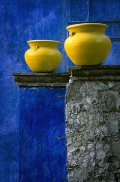 Color my world in bright yellow and royal blue