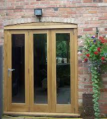 oak bifold doors