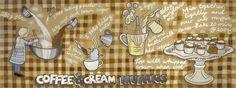 Coffee & Cream Muffins <span class = 'title_artist'> por Roisin Cure </ span>