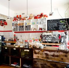 Best breakfast spot in Melbourne!  Homemade coconut crumpets.. cutest decor in town.. good coffee.. AMAZING!
