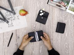 Small wallets Black - LOST & FOUND accessoires