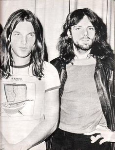 David Gilmour and Richard Wright