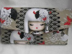 NCW Accordiion Style / Purse / Cell Phone Wallet by JosieeDesigns