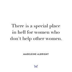 Madeleine Albright - Inspiration - For more, visit: www.shebrand.com