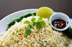 Crab Fried Rice  http://www.thaitable.com/thai/recipe/crab-fried-rice
