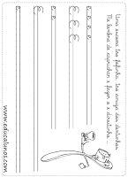 Atividades de caligrafia com vogais Uppercase And Lowercase Letters, Literacy Activities, School