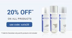 Enhance Your Beauty and Look Younger with Advanced #Skin_Care Products! Buy Today & Get 20% #Discount, Use Code: cutis20