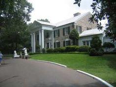 Graceland, Memphis Tennessee. .