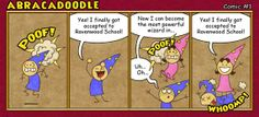 This comic series- Abracadoodle- is amazing. #Wizard101 #HashTagsArePointless