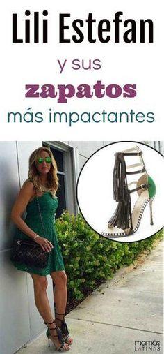Zapatos con adornos de Lili Estefan. #zapatos #liliestefan