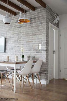 New House Exterior Brick Bedrooms Ideas Brick Interior, Interior Design, Design Interiors, Kitchen Interior, Interior Modern, Interior Brick Walls, Nordic Interior, Modern Interiors, Interior Ideas