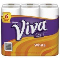 Kleenex Viva Paper Towels by Kleenex. $47.56. 1 Ply - 44Sheets/Roll - 6 / Pack - White