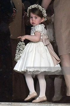 Princesse Charlotte de Cambridge, 20 mai 2017, Marriage de Pippa Middleton et James Matthews à St Mark's Church (Englefield, Angleterre)