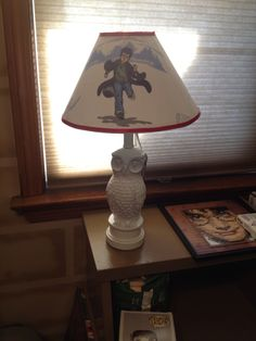 Harry Potter lamp I made