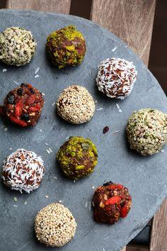 Energy balls amandes cacao cru