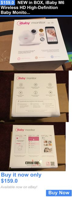 Baby: New In Box, Ibaby M6 Wireless Hd High-Definition Baby Monitor BUY IT NOW ONLY: $159.0