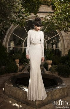 Berta Bridal Summer 2014 Wedding Dresses | bellethemagazine.com