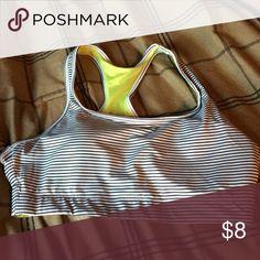 Sports bra Padded and stripped Intimates & Sleepwear Bras