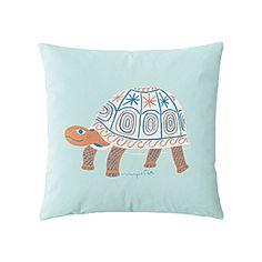 Wayne Pate Turtle Pillow Cover #serenaandlily